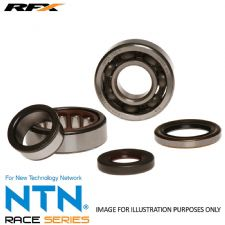 New RFX Honda CR 250 84-91 CR 500 82-01 Crank Shaft Main Bearing Seal Kit Crankshaft